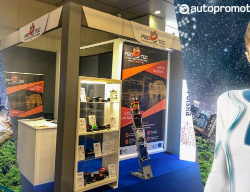 Our stand at AUTOPROMOTEC