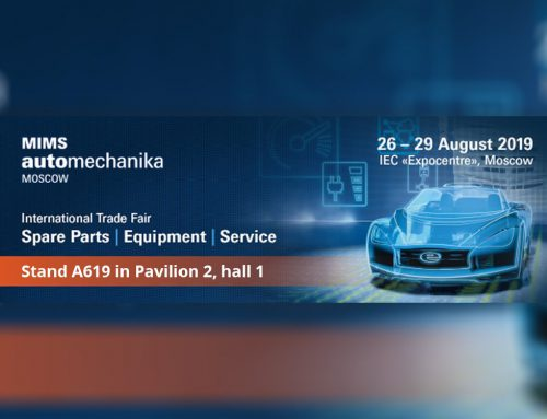 We invite you to the automechanika trade fair in Moscow