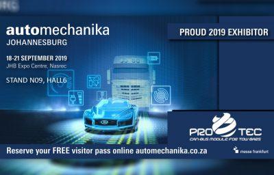 Zapraszamy na targi automechaniki w RPA, JOHANNESBURG