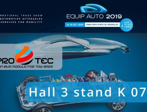 We invite you to the Equip Auto trade fair in Paris
